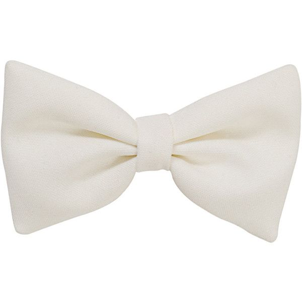 Small Bow Hair Clip ❤ liked on Polyvore