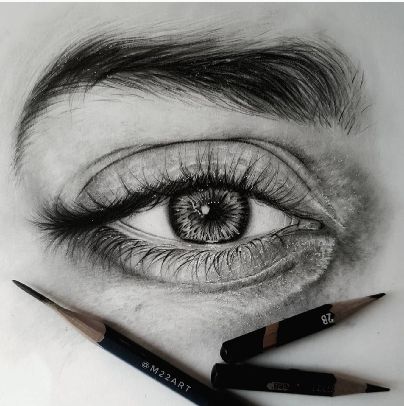 Open Your Eyes Look Within Are You Satisfied With The Life You Re Living Bob Marley Outstanding Artworks By M22art Beautiful Art Eye Art Pencil Art