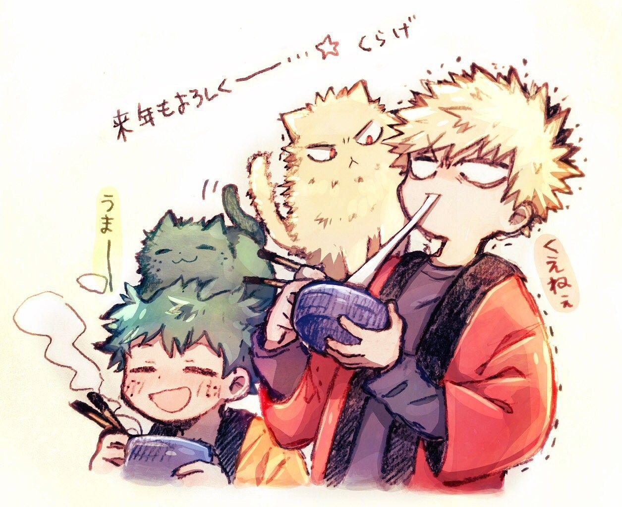 Bakugou Katsuki & Midoriya Izuku   BakuDeku   My hero