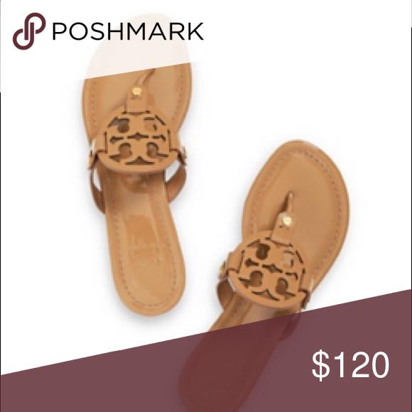 500fe05a31204d Tory burch Miller sandals Size 8