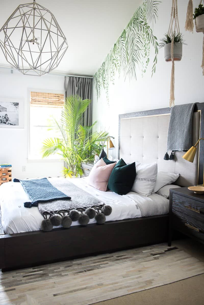 Bedroom Refresh With Bassett S New Modern Collection Place Of My Taste Tropical Bedrooms Home Decor Bedroom Tropical Theme Bedroom