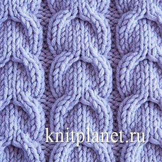 Схема вязания узора жгут спицами фото 405