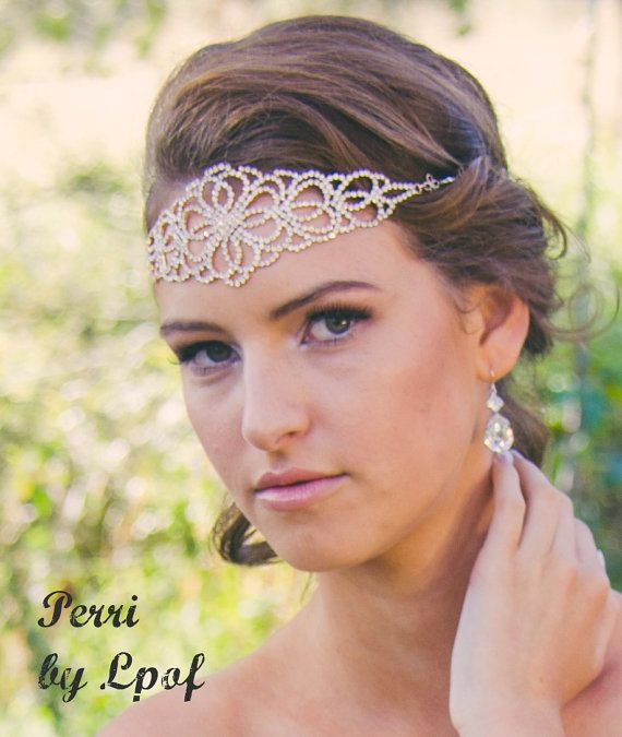 Weddings Hair Bridal Accessories Head Jewelry Chain Headpiece