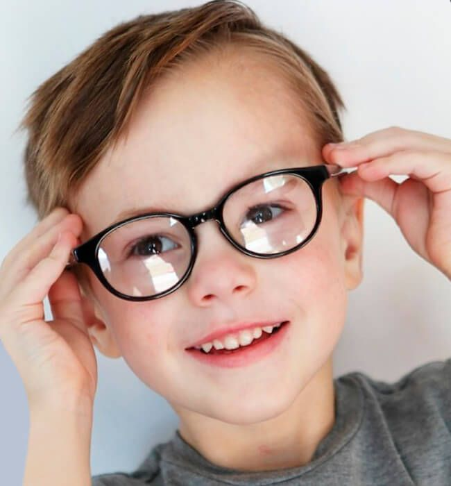 Sporty Haircut For Boys With Glasses Bunbun Toddler Haircuts