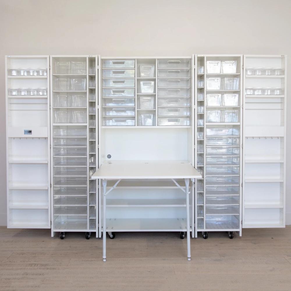 Folding Design Cabinet In 2020 Art Studio Organization Cabinet Design Studio Organization