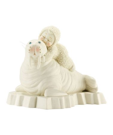 This 'I Love Your Wrinkles' Figurine by Snowbabies is perfect! #zulilyfinds