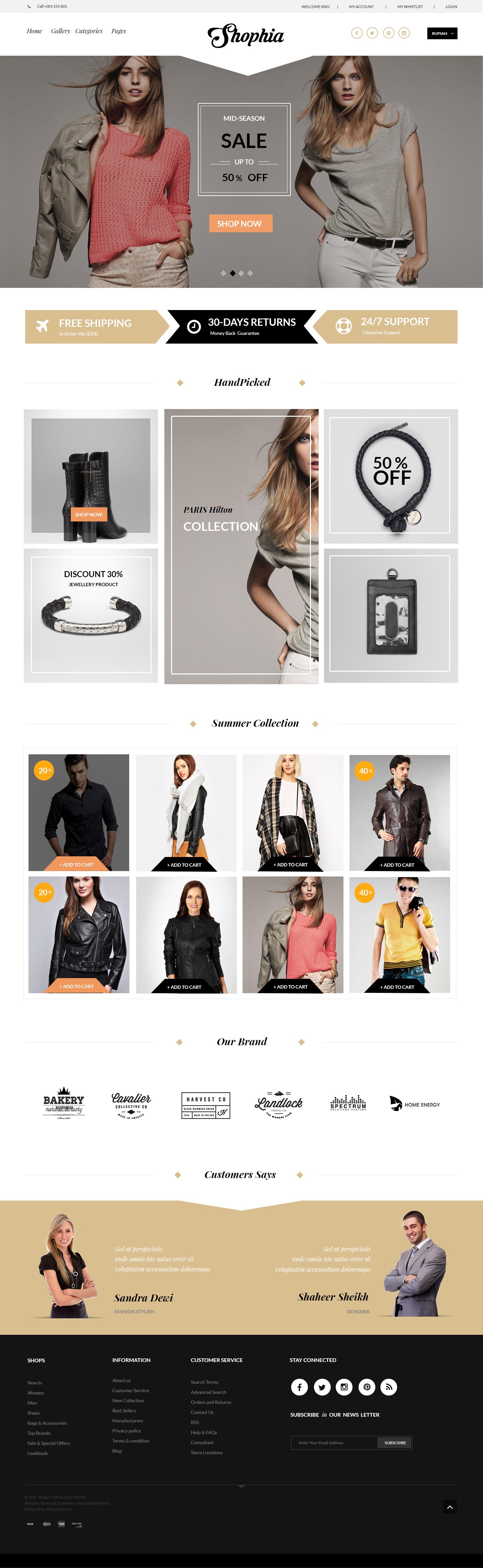 Free Fashion Ecommerce Design Psd Ecommerce Design Ecommerce Web Design Web Layout Design