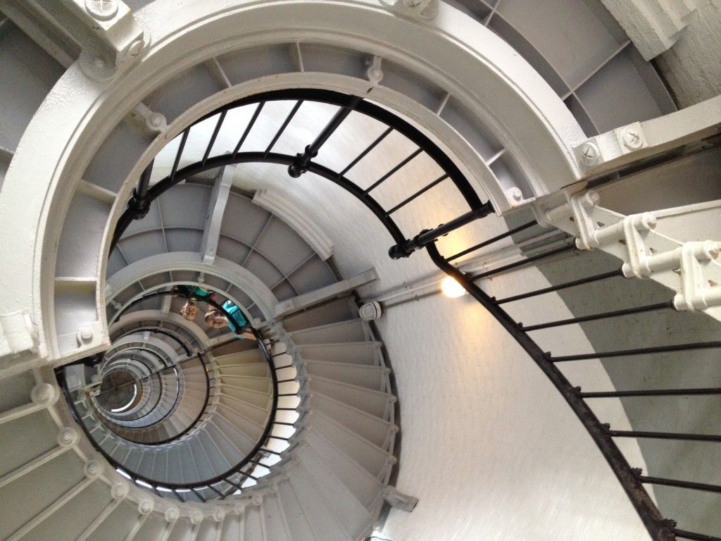 Best Metal Spiral Staircase In A 19Th Century Light House The 640 x 480