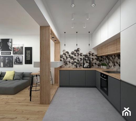 Bialo Szara Kuchnia Szukaj W Google Kitchen Furniture Design Kitchen Sofa House Interior Decor