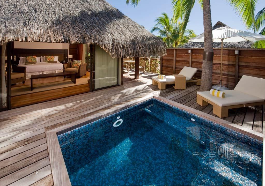 Deluxe Garden Pool Suite At The Hilton Moorea Lagoon Resort