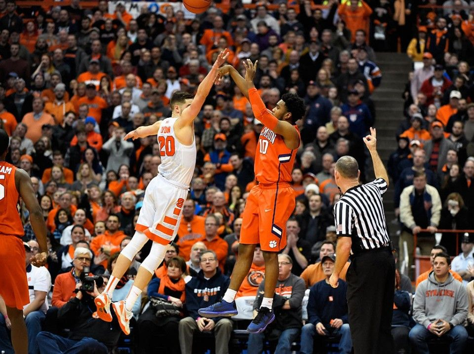 Basketball Vs Clemson 1 5 16 Syracuse Basketball Basketball