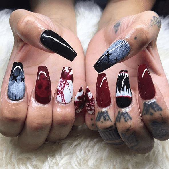 21 Halloween Nägel #Halloween #Nägel - #Halloween #Nägel ...