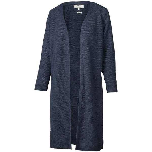 Fat Face Haywood Textured Longline Cardigan , Blue-Navy ($73 ...