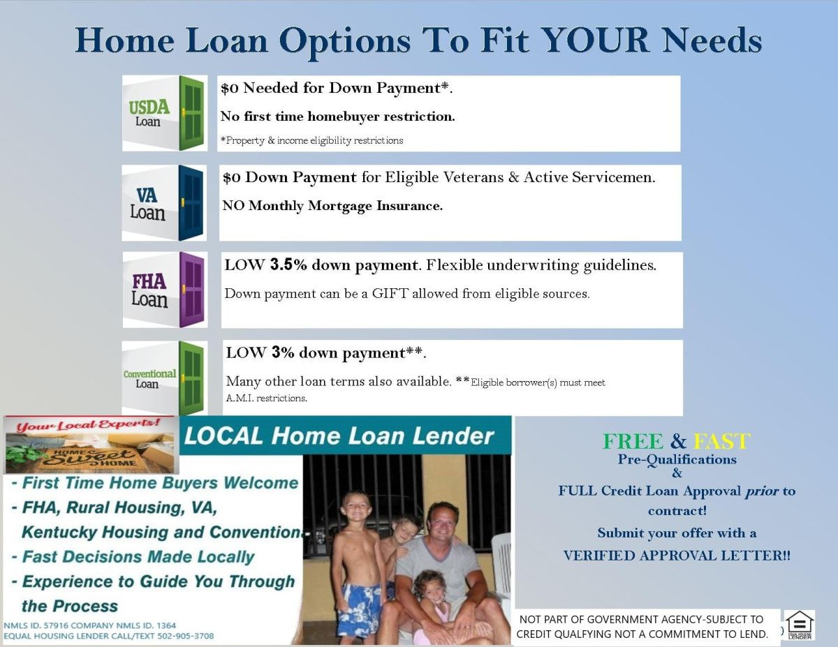2020 Kentucky First Time Home Buyer Programs Usda Loan First Time Home Buyers Mortgage Quotes