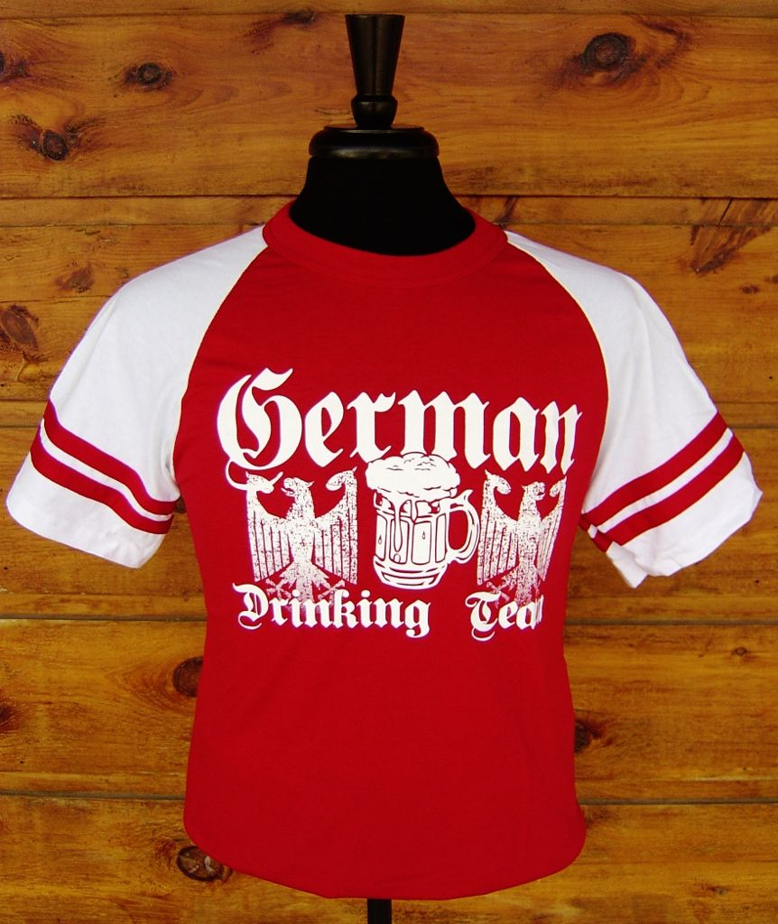 German Drinking Team Jersey T Shirt 30 Back Of Shirt