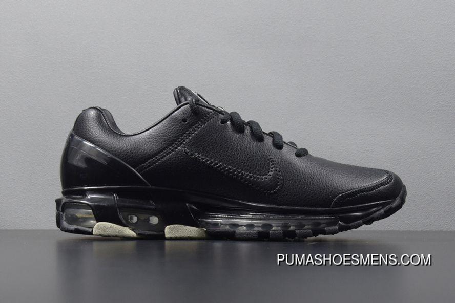 """46bbb12fcf902e Nike Air Max 2003 SS """"Triple Black"""" 309726-001 Retro Air Cushion Running  Shoes Copuon"""