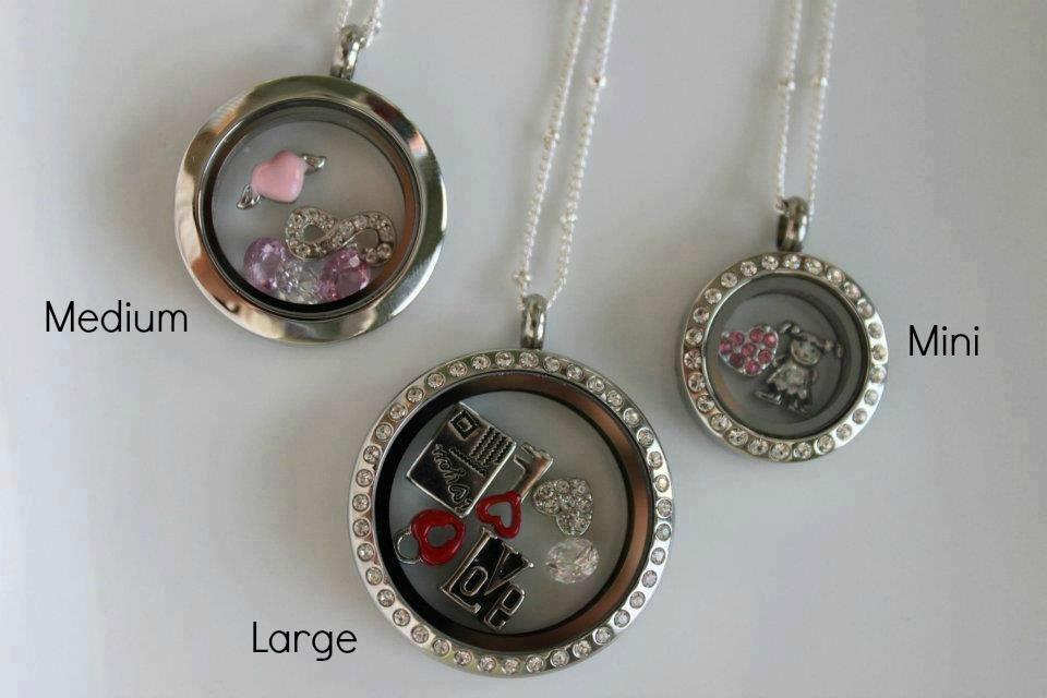 Origami Owl Locket Sizes Large Medium And Mini Origami Owl Jewelry Origami Jewelry Origami Owl Custom Jewelry