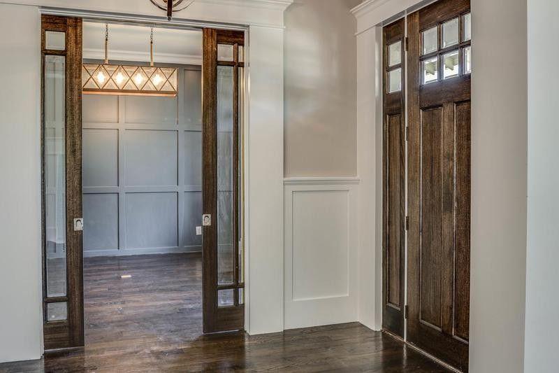 5224 Willis Ave Dallas Tx New Custom Home Custom Homes Glass Pocket Doors Home