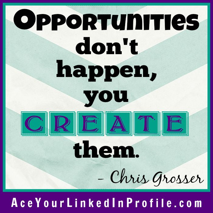 ChrisGrosser #motivation #inspiration #quote #job #interview - linkedin resume search