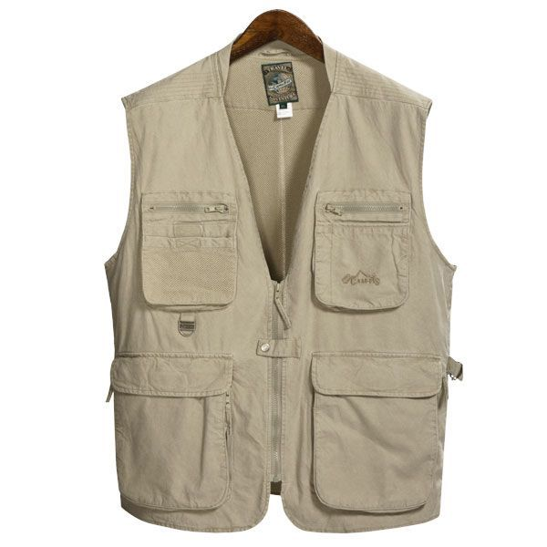 Pro Cam-Fis Safari-Travel Vest (For Men)