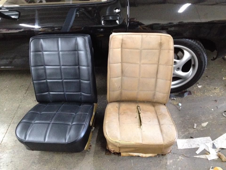 Scratched car seat repairs? we come to you! classic motor