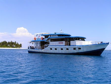 Kaimana is a luxury Mentawai Surf Charter Boat that can