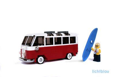 lego vw bus lego vw surf pretty geeky pinterest. Black Bedroom Furniture Sets. Home Design Ideas