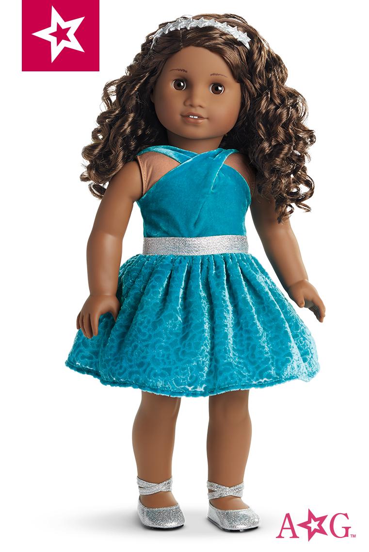 b264fe7409d79 Gabriela's Celebration Dress for 18-inch Dolls | American Girl ...