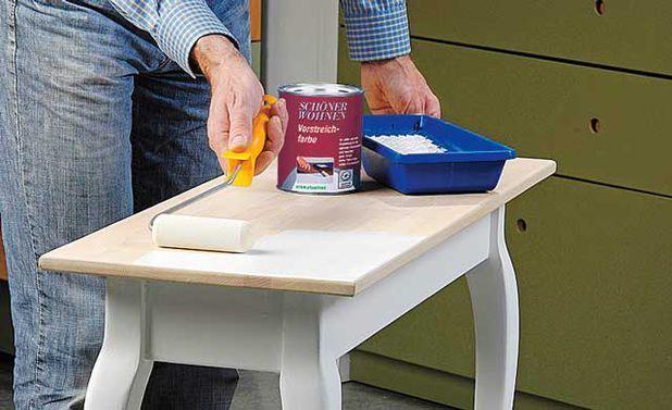 tisch lackieren k chenerneuerung pinterest lackieren tisch und neuer. Black Bedroom Furniture Sets. Home Design Ideas
