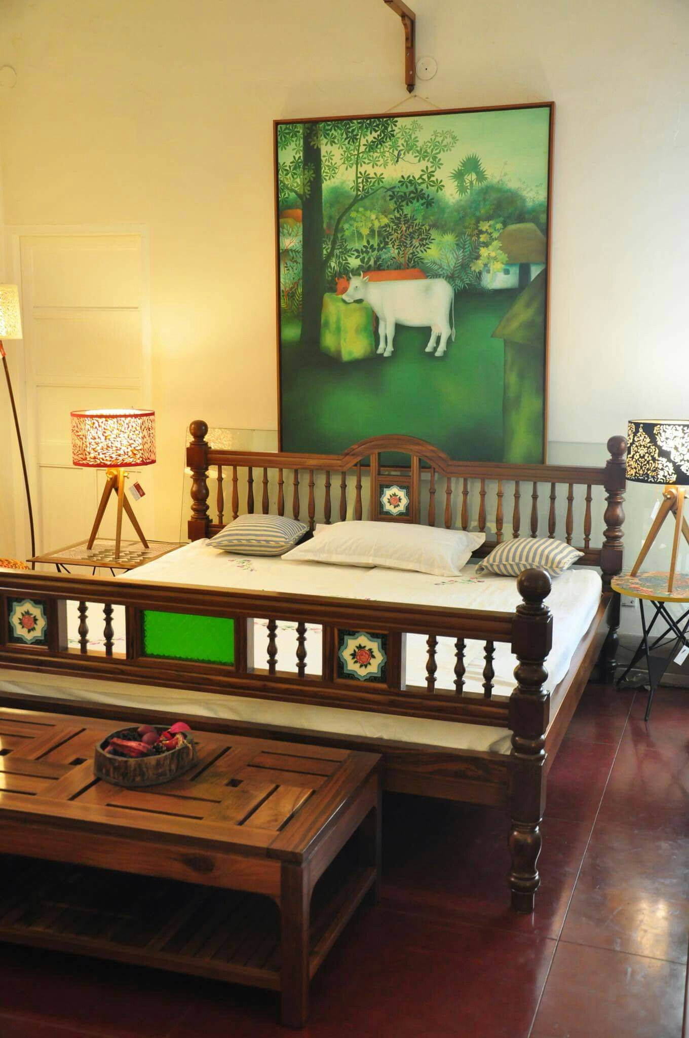 Pin by Gouri Joshi on cozy Indian homes | Indian bedroom ...