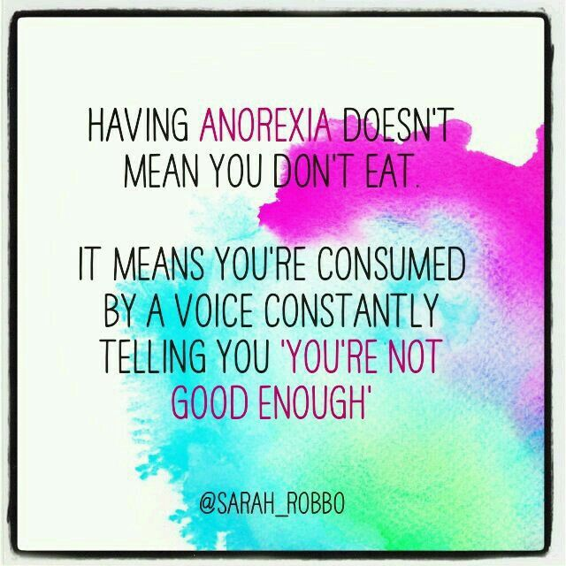 Anorexia Quotes Endearing Pinfabienne Elisabeth On Erholung  Erholung  Pinterest . Inspiration