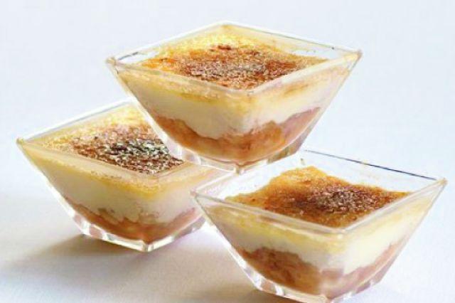 Crème brûlée s brandy a ovocem | Apetitonline.cz