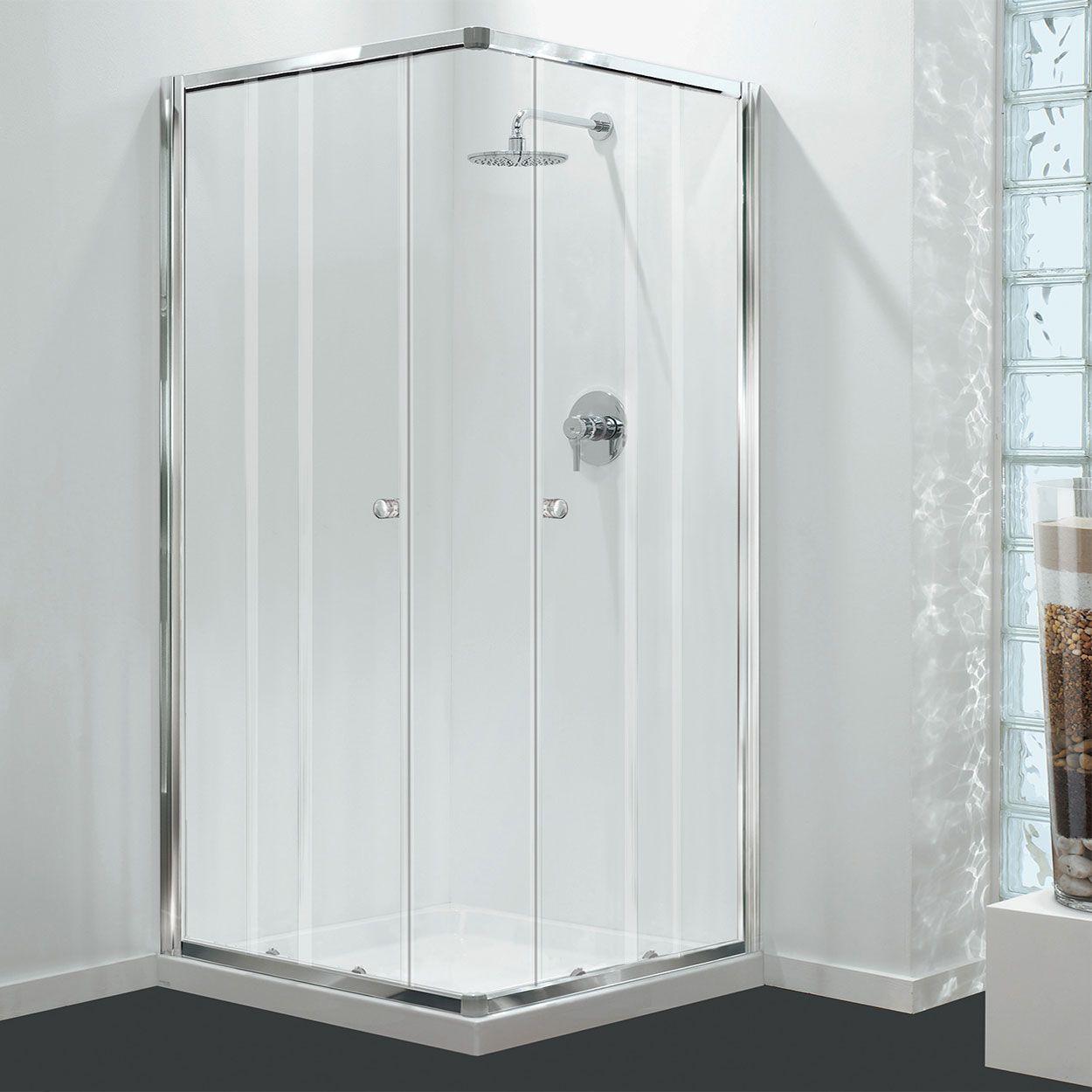 Coram Gb Corner Entry Shower Door 760mm X 760mm 4mm Glass
