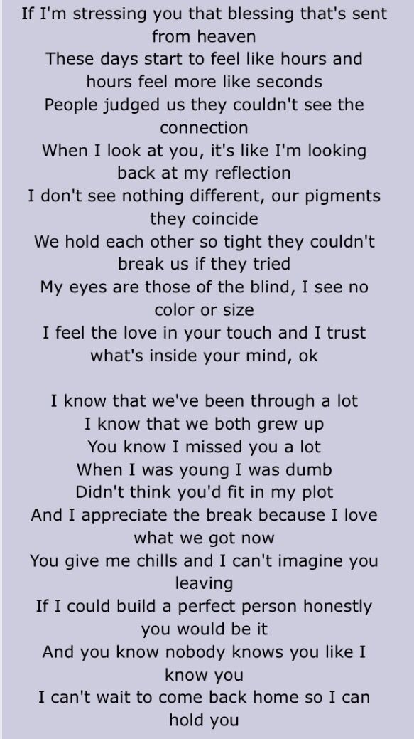 Lyric rap song finder by lyrics : We Hold Each Other