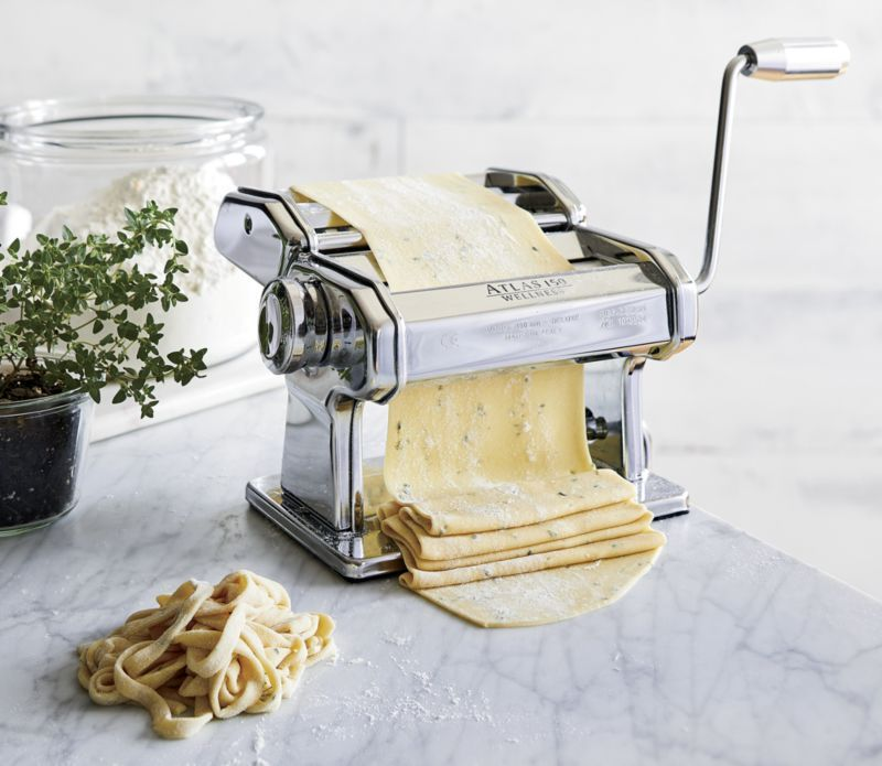 Atlas 150 Aluminum Pasta Maker Reviews Crate And Barrel