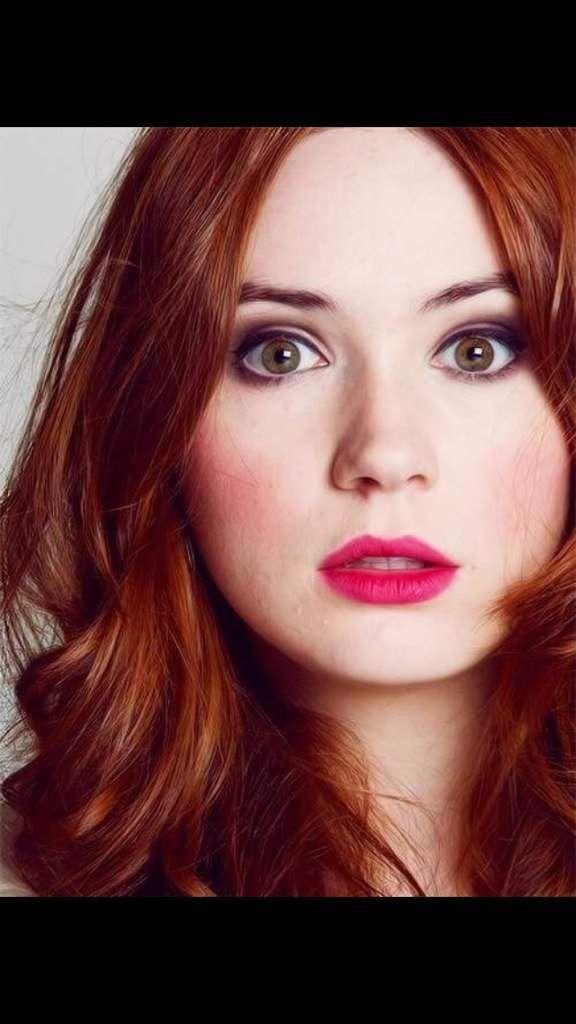 Karen Gillan 3 Doctor Who Amino Cheveux cuivré