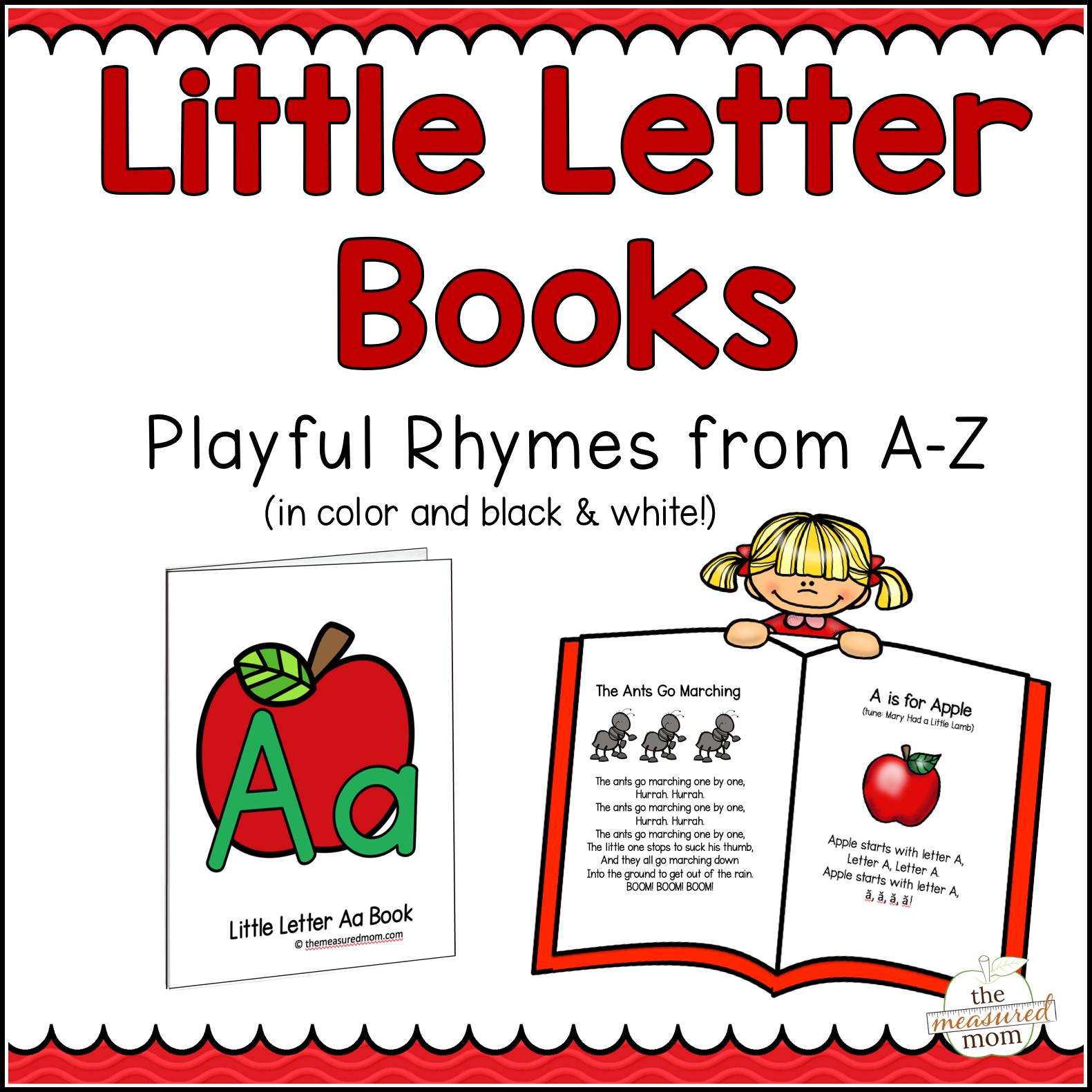 26 Letter Books Of Nursery Rhymes Amp Songs