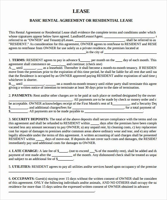 Fresh Beat Lease Contract Template Pdf Download Lease Agreement Rental Agreement Templates Contract Template Lease Agreement
