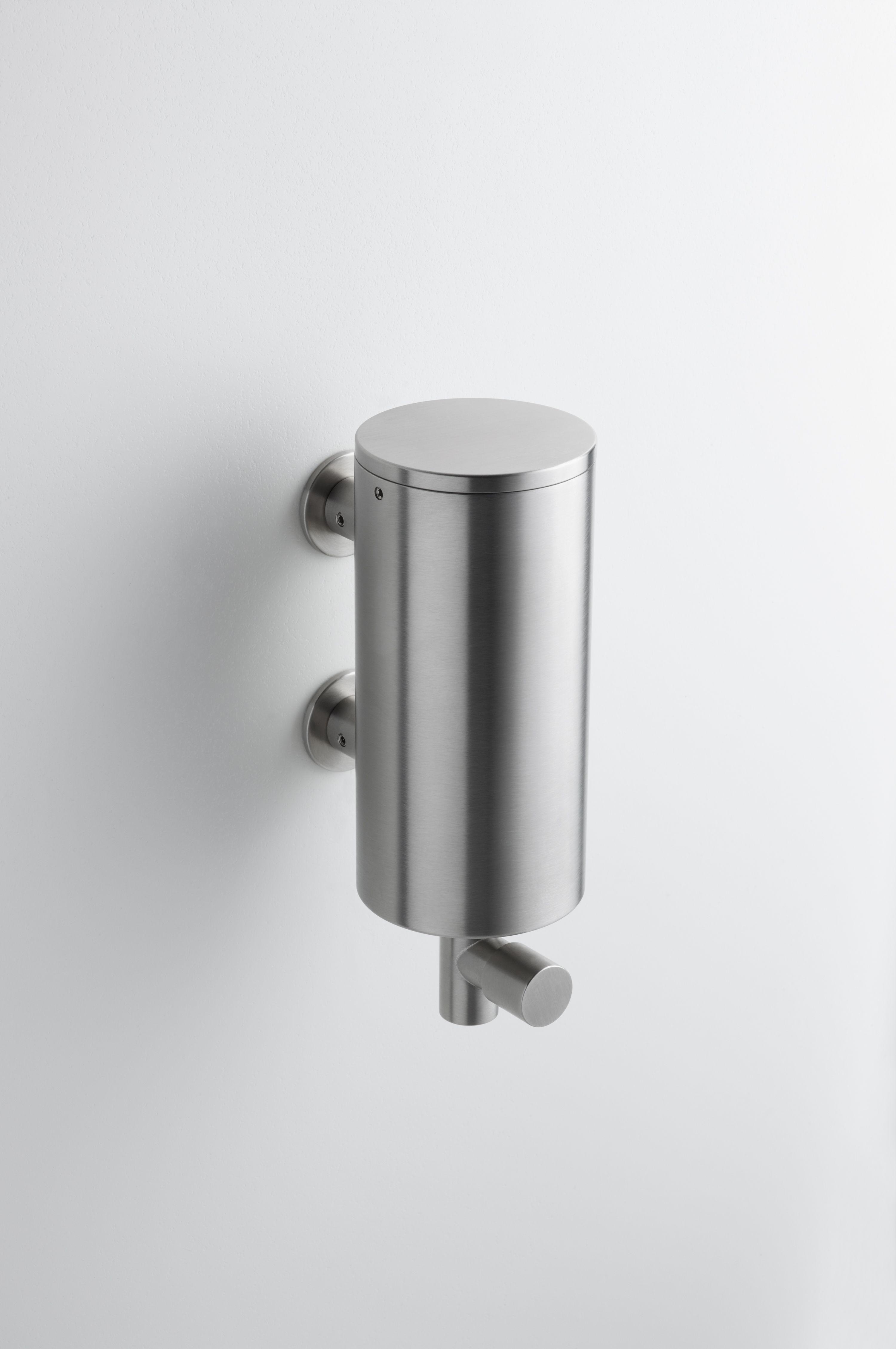 Wall Mounted Soap Dispenser Vola T10 Modern Bathroom Accessories Commercial Bathroom Designs Beautiful Bathroom Designs