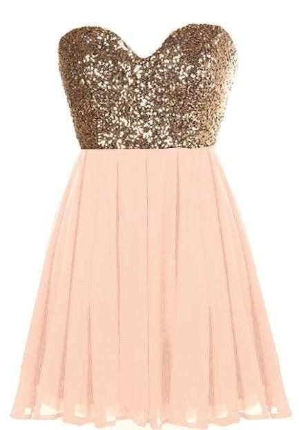 Glitter Fever Dress | Best Blush pink, Bodice and Neckline ideas