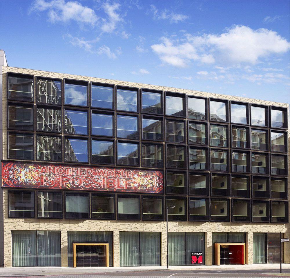 CitizenM Hotel Bankside London By Concrete Architectural - Citizenm london bankside by concrete architectural associates