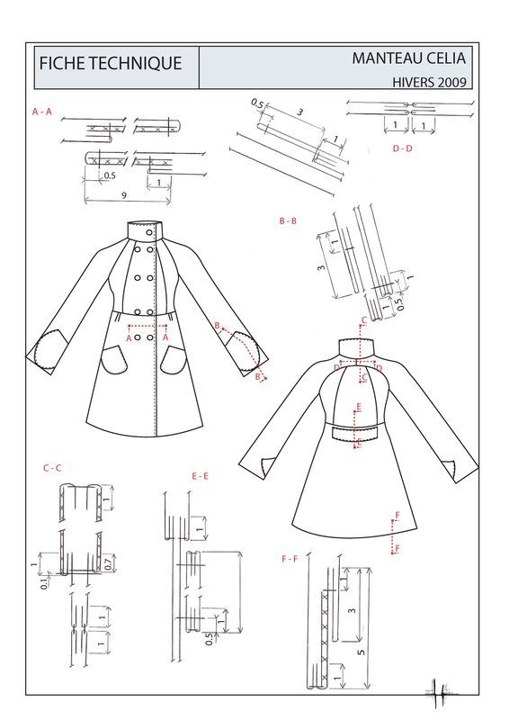 gamme de montage 2 | sew | Sewing