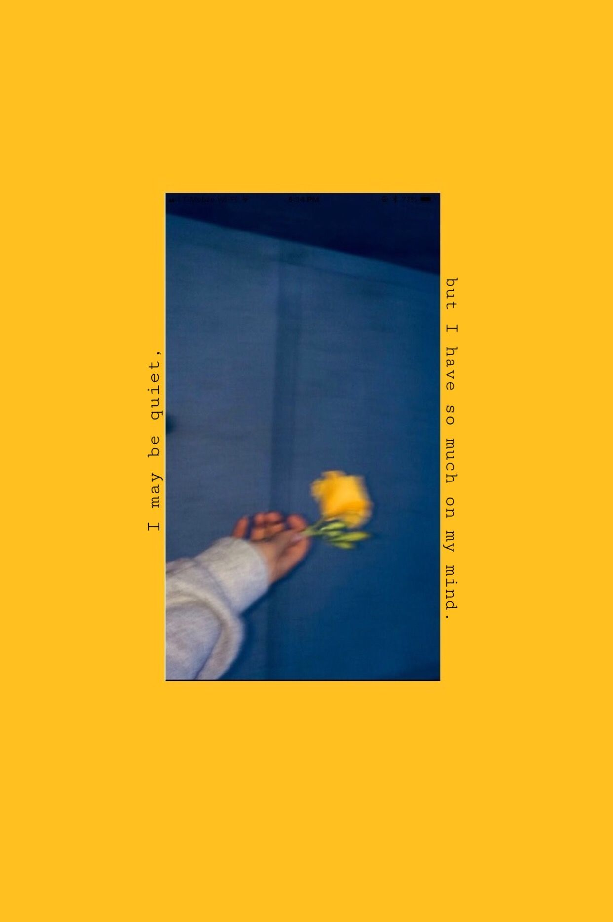 Pin Oleh Fajraj Di Yellow Aesthetic Wallpaper Iphone Gambar Wallpaper Ponsel