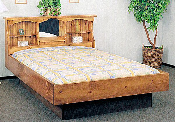 Super Single Starlight Wood Frame Waterbed Waterbed Frame Water Bed Bed Furniture