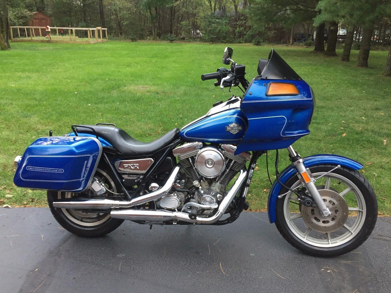 Details about 1987 Harley-Davidson FXR | Harley_!! | Harley