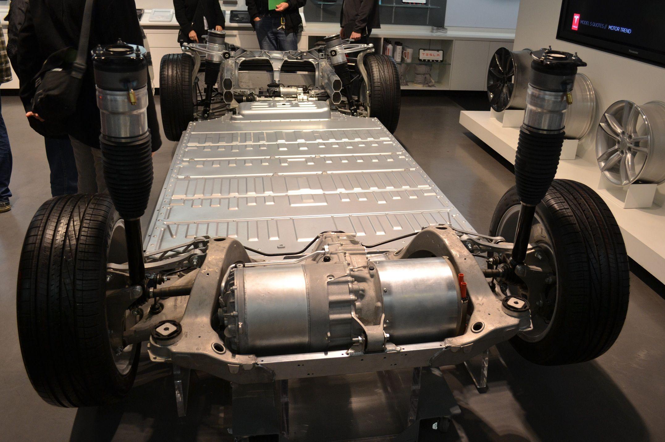 Design of tesla car - Tesla Model S Chassis Google Search
