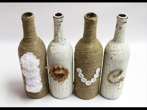 Wine Bottle Decorating Ideas 19 Diy Wine Bottle Decoration Ideas  Decoraltion  Pinterest