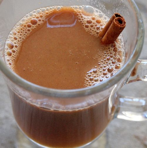 Hot Buttered Cider With Rum