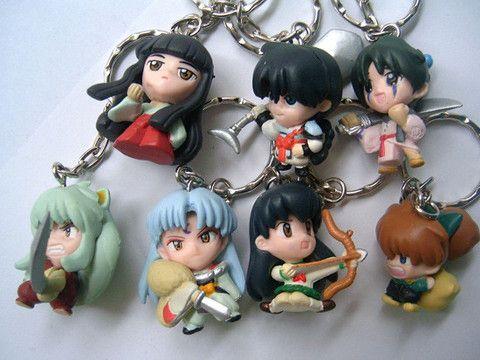 Inuyasha Keychains Set INKYB5397 | 123COSPLAY | Anime ...