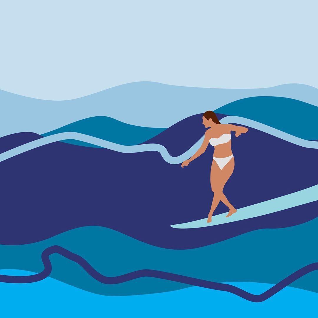 10 Illustrations by Jeph Polancos ideas   illustration, surf art ...